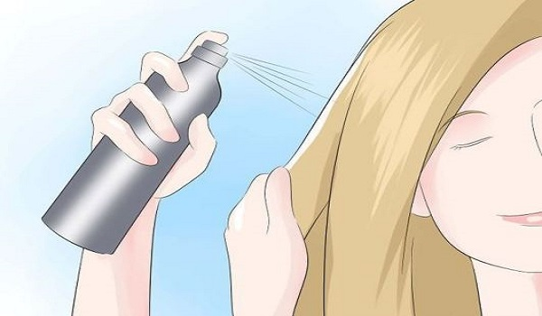 Φτιάξτε φυσική λακ μαλλιών βήμα προς βήμα