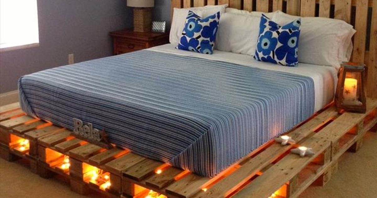 Κατασκευές με παλέτες: Φτιάξτε κρεβάτι με παλέτες! Δείτε 14 φανταστικές ιδέες