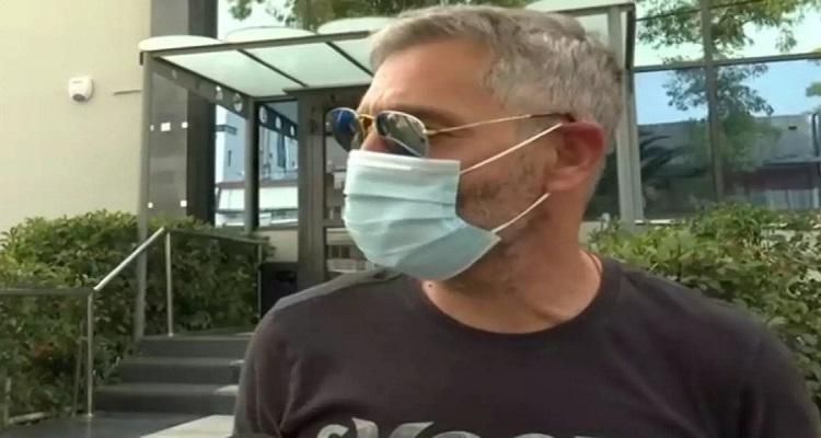 Θοδωρής Αθερίδης: Δέχθηκε χυδαία επίθεση επειδή μίλησε υπέρ της μάσκας