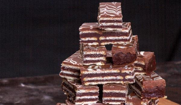 Γκοφρέτες με σοκολάτα και φυστικοβούτυρο