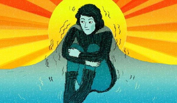 Kρυάδες εν μέσω ζέστης: Τι μπορεί να δείχνουν για την υγεία σας – Προσοχή!