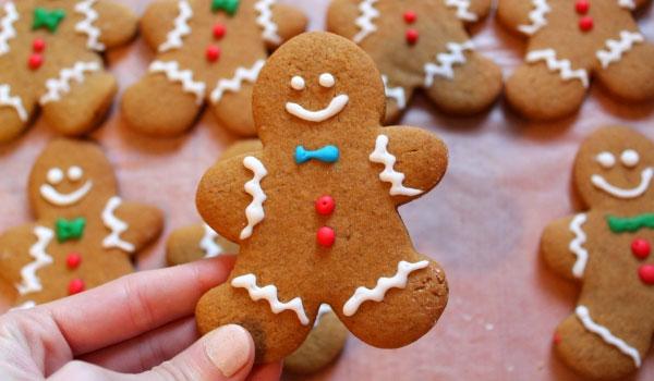 Συνταγή: Χριστουγεννιάτικα μπισκότα με τζίντζερ