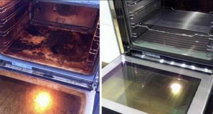 Έντονοι λεκέδες στον φούρνο σας; Αυτά τα δύο φυσικά υλικά θα τον κάνουν καινούριο