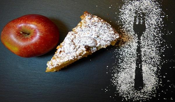 Εύκολο κέικ μήλου, νηστίσιμο