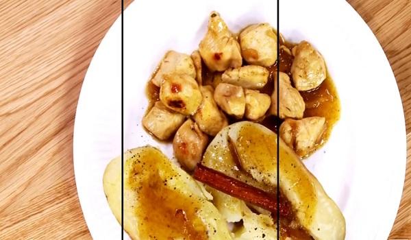 Κοτόπουλο μπουκίτσες με μέλι και μπίρα
