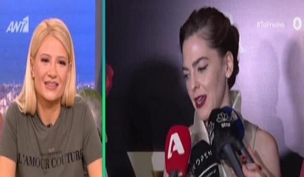 Ρένα Μόρφη: Ο Γιάννης Στάνκογλου  μπορεί να κάνει ότι φιλάει και ωραία