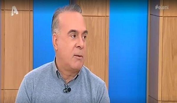 Φώτης Σεργουλόπουλος: Δεν θέλω ο γιος μου να πιστεύει ότι είμαστε πιο σπουδαίοι από τους άλλους
