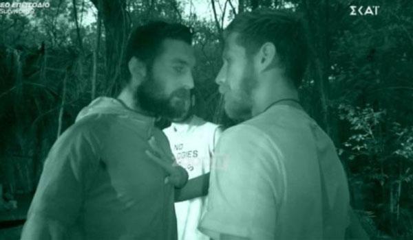 Χαμός στο Survivor: Εκτός εαυτού ο Τόνι! Έσπρωξε τον Νίκο και τον έβριζε χυδαία…