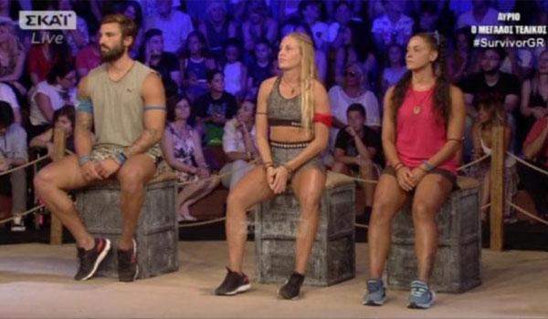Survivor 2: Ο Ηλίας Γκότσης και η Κατερίνα Δαλάκα πέρασαν στον μεγάλο τελικό!
