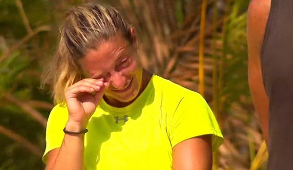 Survivor 3: Ξέσπασε σε κλάματα η Αφροδίτη λίγο πριν το αγώνισμα επάθλου