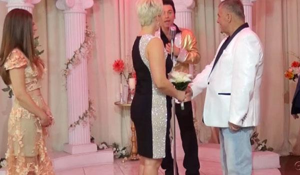 Ο Γιώργος Τράγκας παντρεύτηκε για τρίτη φορά την ίδια γυναίκα!