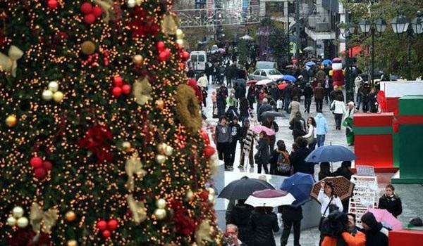 Εορταστικό ωράριο καταστημάτων, Χριστούγεννα 2016