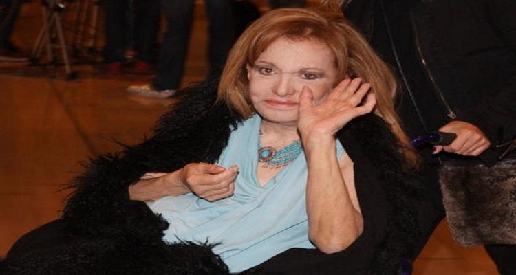 Μαίρη Χρονοπούλου: Βλάφτηκε ανεπανόρθωτα η όρασή μου – Σε μια εβδομάδα θα κάνω το εμβόλιο