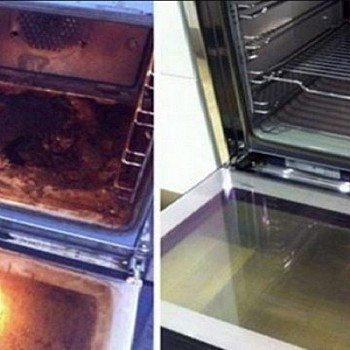 Έτσι θα καθαρίζει φυσικά και εύκολα ο φούρνος της κουζίνας από τους  λεκέδες