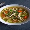 Κοτόσουπα με λαχανικά για τις κρύες ημέρες