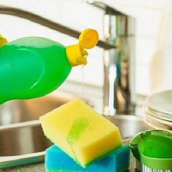 Απορρυπαντικό Πιάτων: Τι δεν πρέπει να κάνετε με αυτό