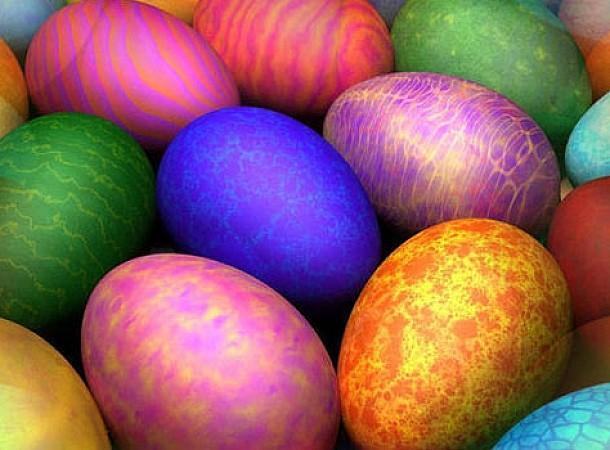 Παραδοσιακή βαφή Πασχαλινών αυγών με φυσικά χρώματα