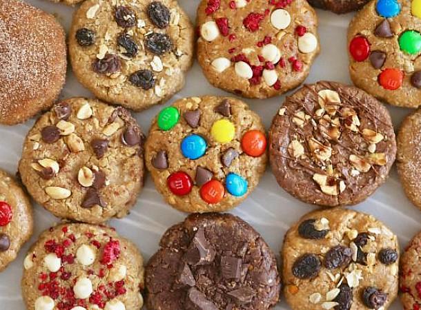 Μπισκότα στα γρήγορα με 3 υλικά. Εύκολη συνταγή