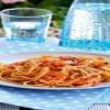 Λιγκουίνι με γαρίδες και ούζο