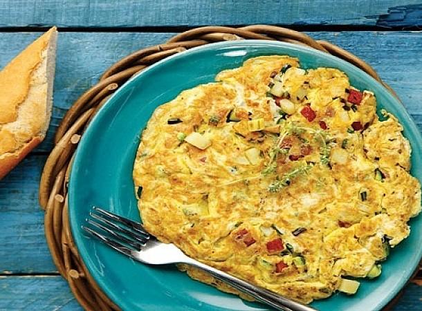Η «ομελέτα» χωρίς αυγά με 3 μόνο υλικά