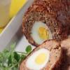 Ρολό κιμά γεμιστό με αβγά