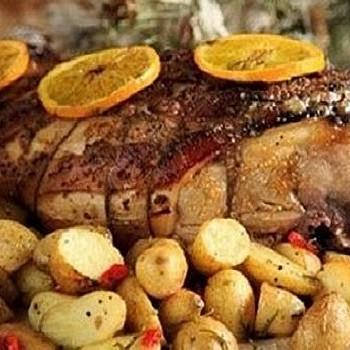 Χοιρινό κότσι με πατάτες